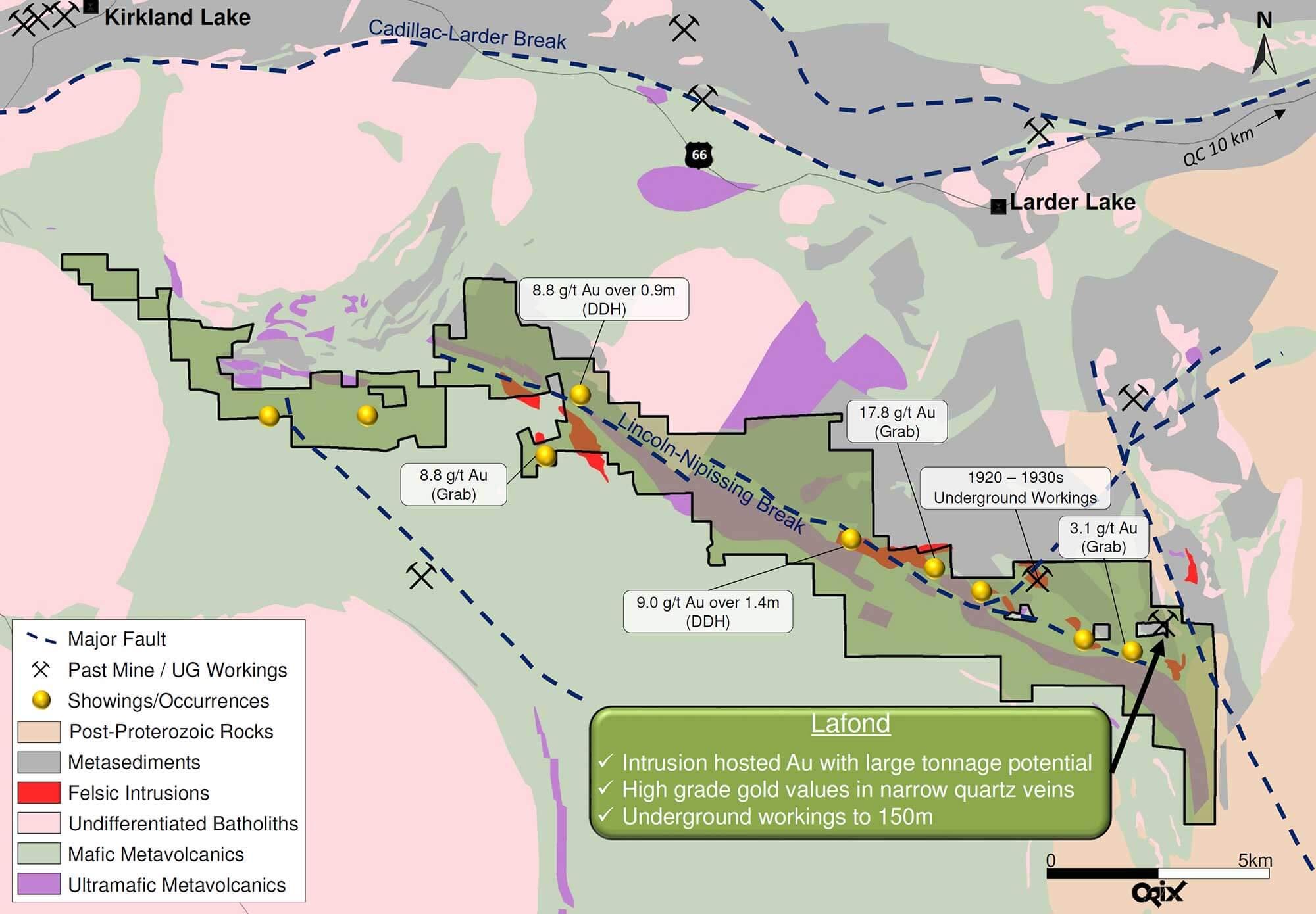 Canadian Gold Miner Regional Map